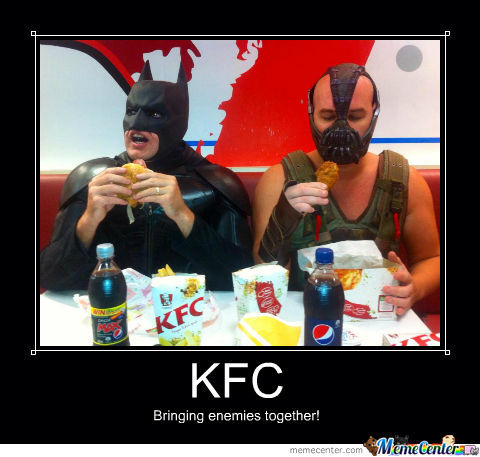 Kfc Bring Enemies Together!