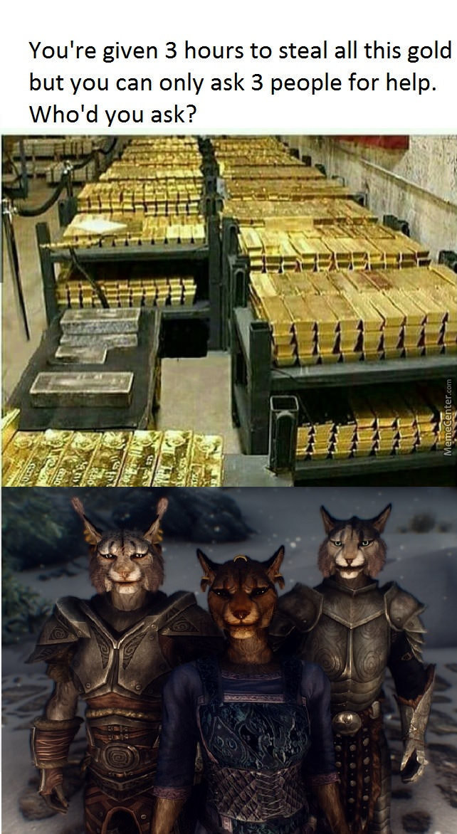 Khajiit Has Wares If You Share That Coin by ...