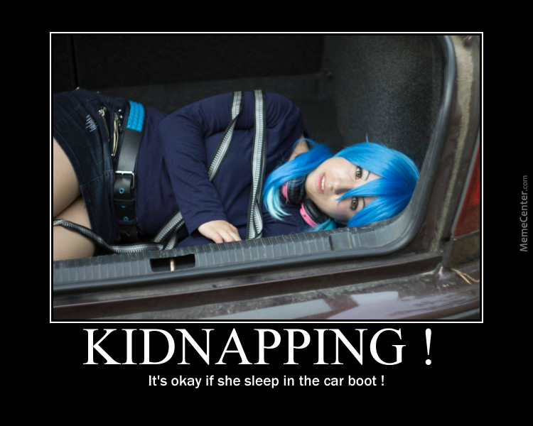 Kidnapping by pitioti meme center