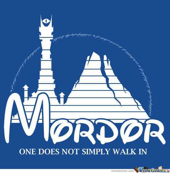 Kids Have Disney, We Have Mordor