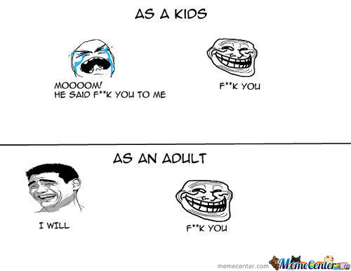 Kids V Adults