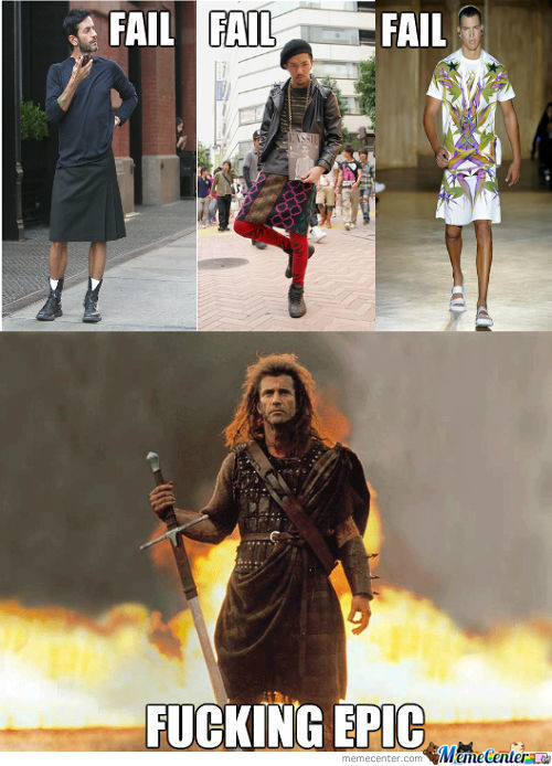 Kilt Is The Only Epic Skirt
