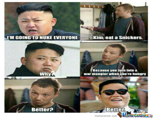 Kim, Eat A Snickers!