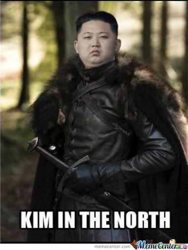 Kim In The North By Ron A Galvez Meme Center
