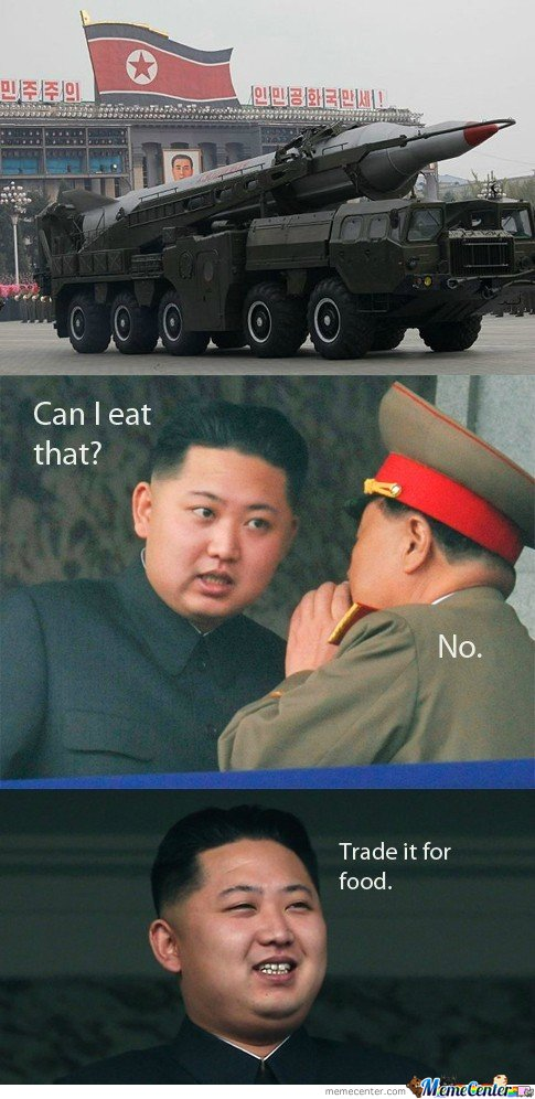 Kim Is Hungry