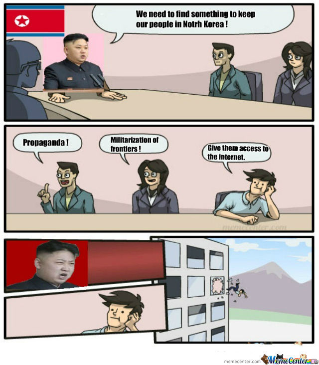 Kim-Jong-Un Doesn't Agree !