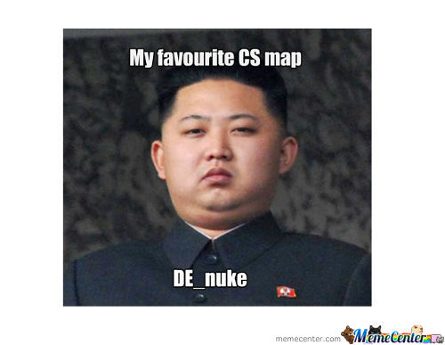 Kim Jong-Un Favourite Cs Map