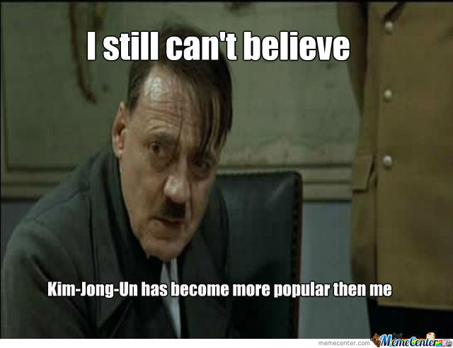 Kim Jong Un More Popular Then Hitler