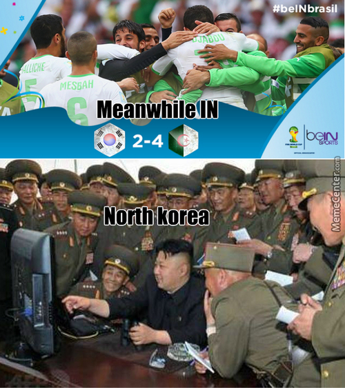 Kim Jong-Un World Cup 2014 Reaction