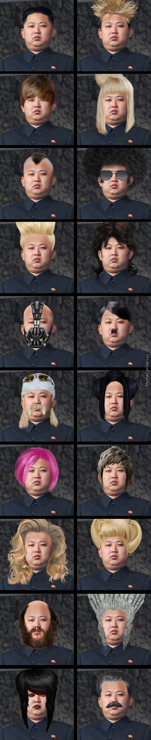 Kim Tries Different Hairstyles.some Users Are Gonna Take One Of Those And Probably Use Them As A Profile Avatar