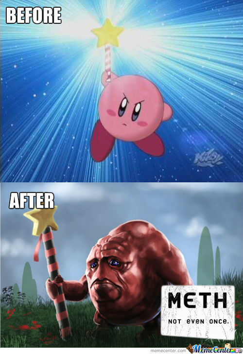 Kirby Sucked The Wrong Stuff
