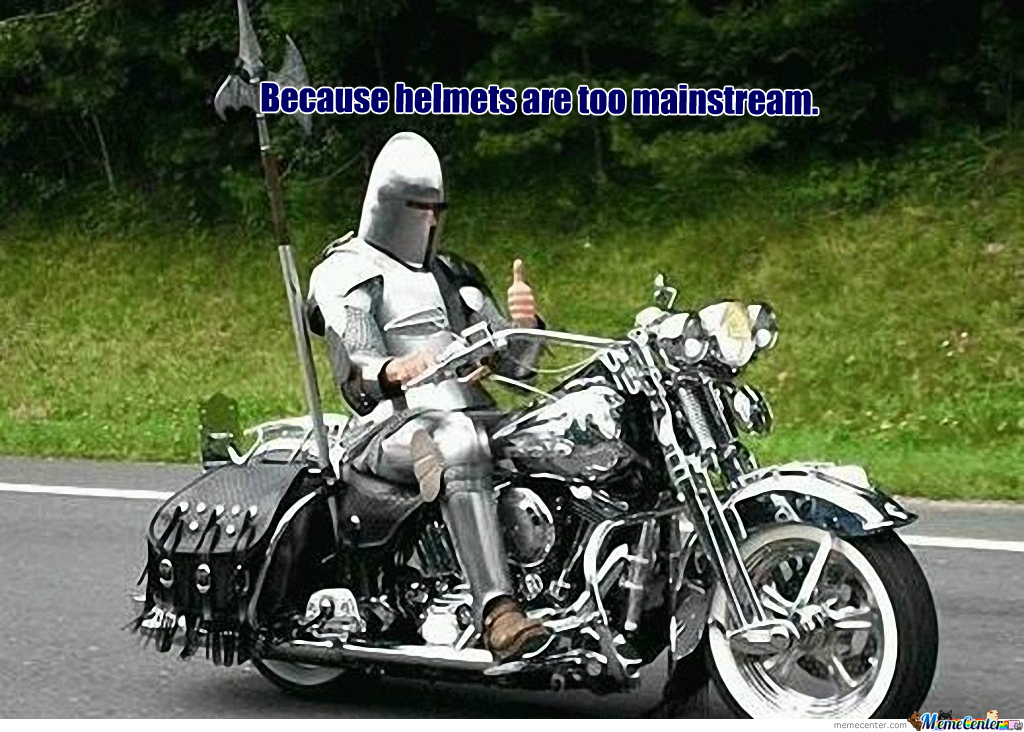 Knight On Bike