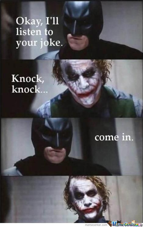 Knock Knock...come In?