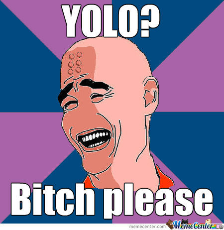 Krillin Thinks Those Yolo-People Are A Bunch Of Noobs