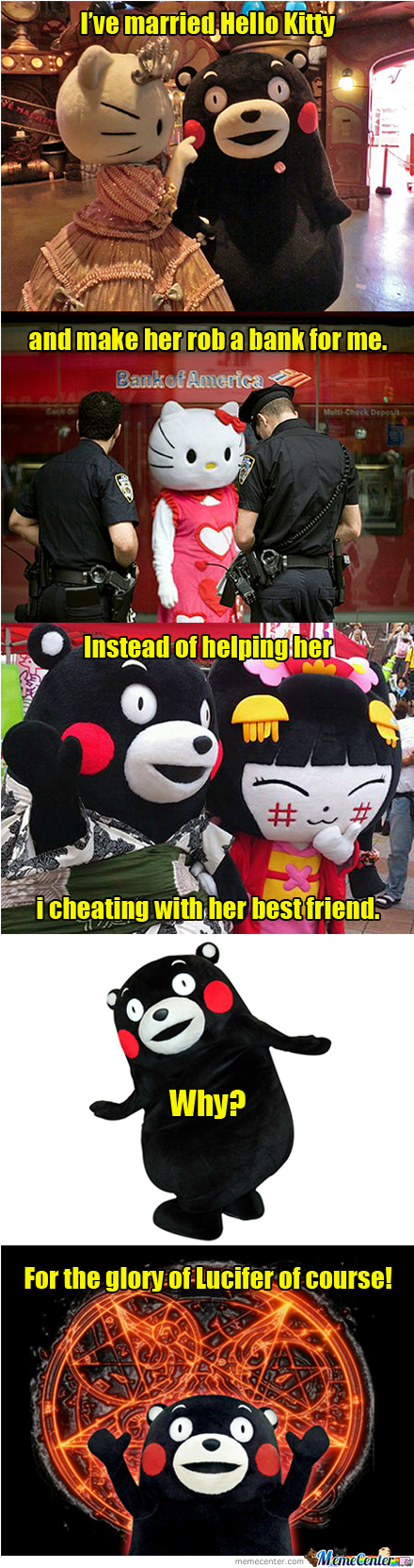 Kumamon Love Story