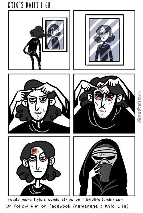 Kylo Ren's Daily Fight