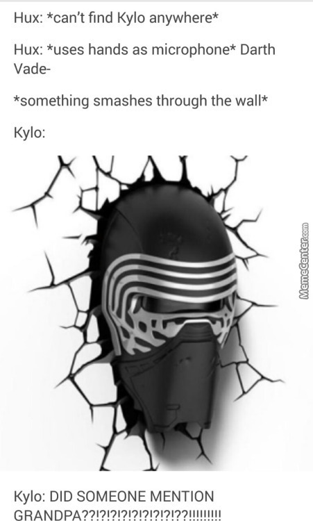Kylo Ren The Fanboy