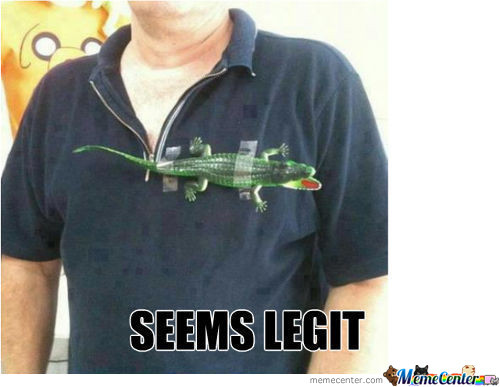 Lacoste Shirt Seems Legit