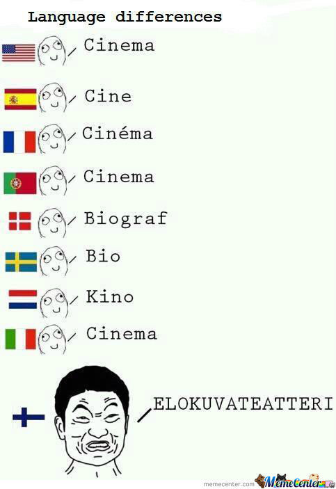 Language Differences.