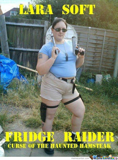 Lara Soft Fridge Raider!