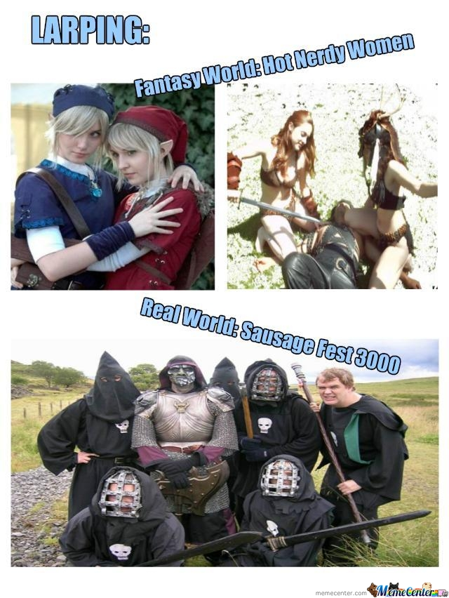 Larping: Fantasy Vs. Reality