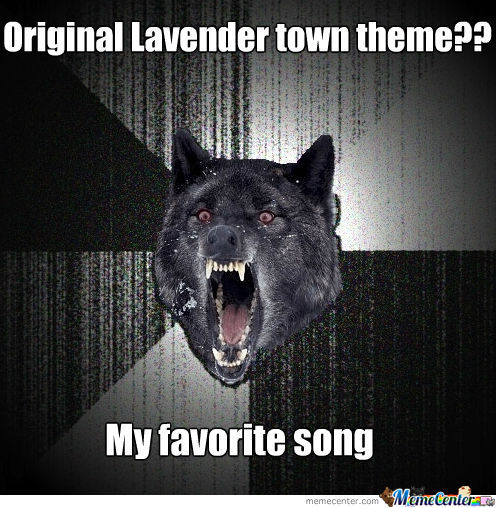 Lavender Town Creepy Music Theme
