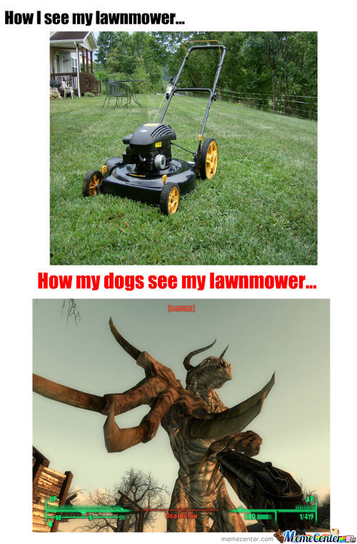 Lawnmower Death Trap