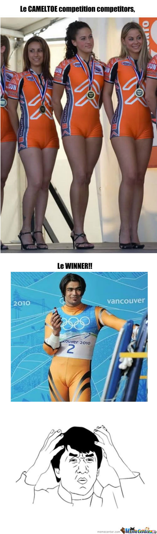 Le Cameltoe Competition.