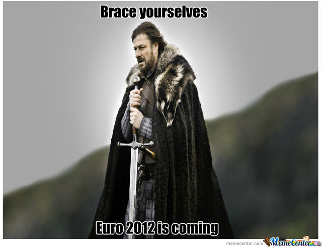 Le Euro 2012 Is Coming