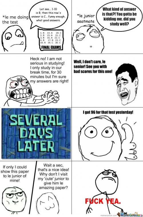 le junior and amazing answers