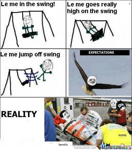 Le Me In The Swing! :d
