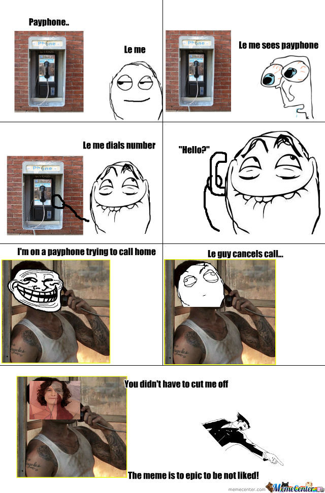 Le Payphone Troll
