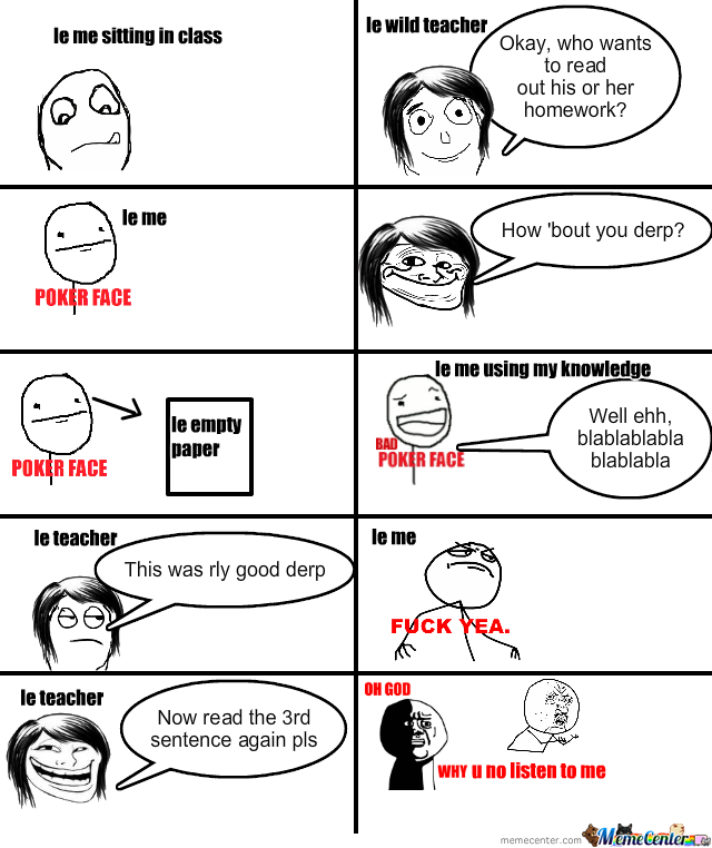 Le Troll Teacher...