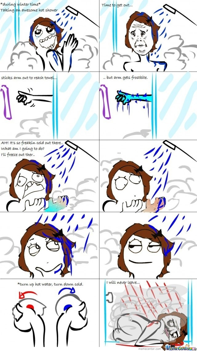 Le Winter Shower