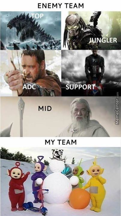 League Of Legend In A Nutshell