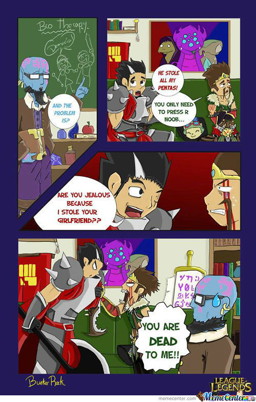 League Of Legends Comic 14