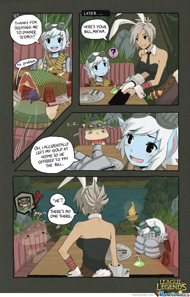 League Of Legends Comic 2