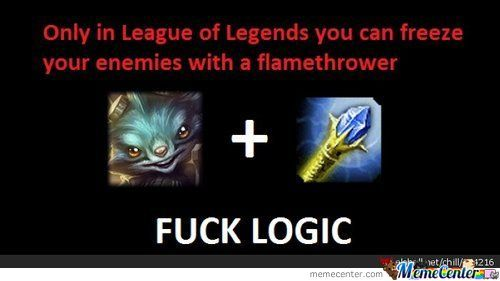League Of Legends Logic ....