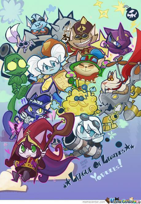 League Of Yordles ! :3