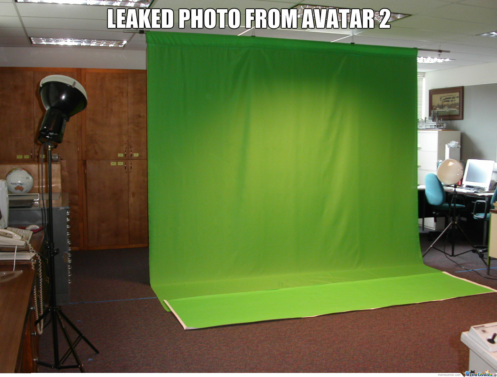 Leaked Image Of The Avatar 2 Set.
