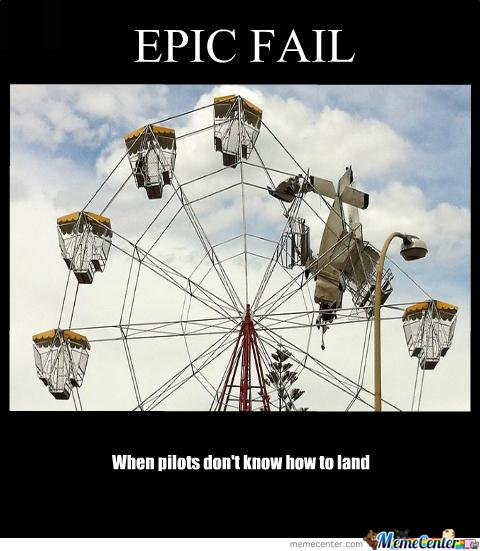 learn how to fly a plain pilots ;)