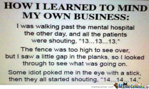 Learn Your Own Business!!