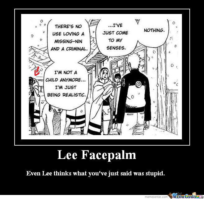 Lee Facepalm