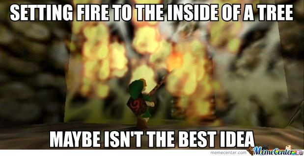 Legend Of Zelda Porn Fire