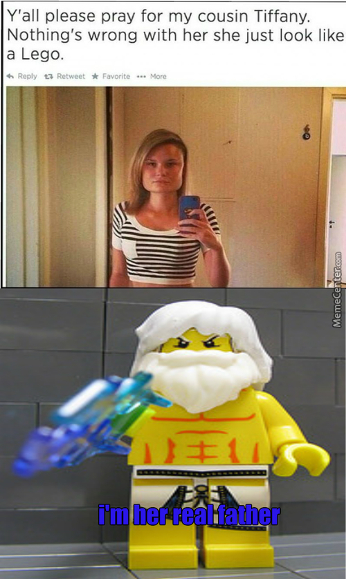 Lego Zeus Has Struck Again