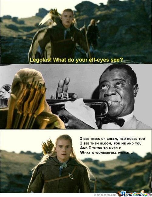 Legolas! What Do Your Elf Eyes See?