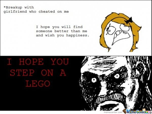 Legos Are Deadly....