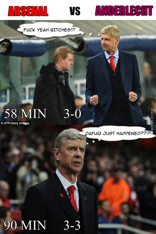 Let's All Take A Moment To Laugh At Arsenal