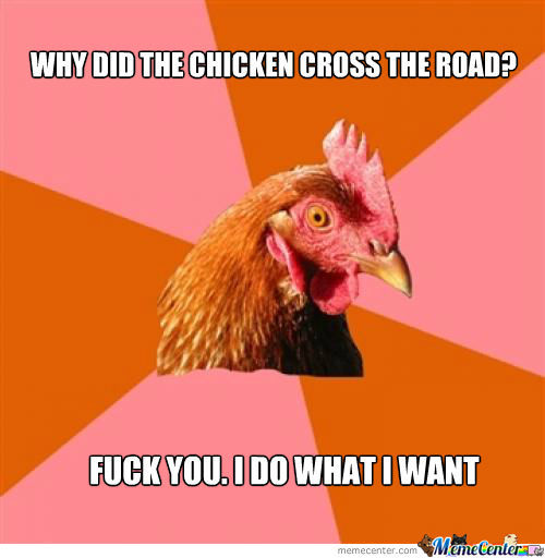 Let Him Cross The Road