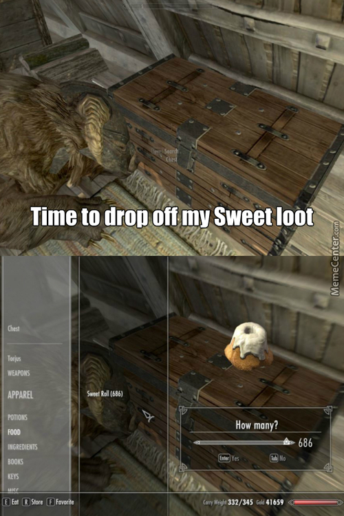 Let Me Guess Someone Stole Your Sweetroll
